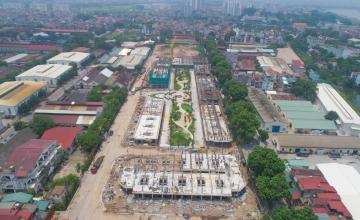 Tiến độ xây dựng dư án Bình Minh Garden ngày 20/08/2019