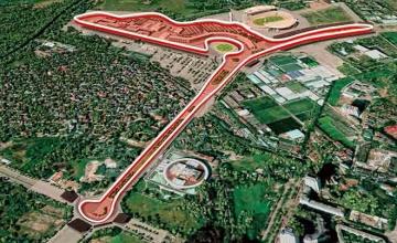 Chung cư Florence nằm trong tuyến đường đua F1 Việt Nam Grand Prix chất nhất Đông Nam Á.