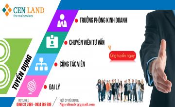 Tuyển nhân viên kinh doanh Bất Động Sản tại Hà Nội