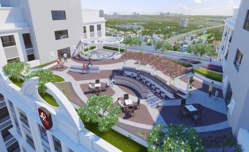 Thiết kế các loại căn hộ 3 phòng ngủ dự án Florence Mỹ Đình.